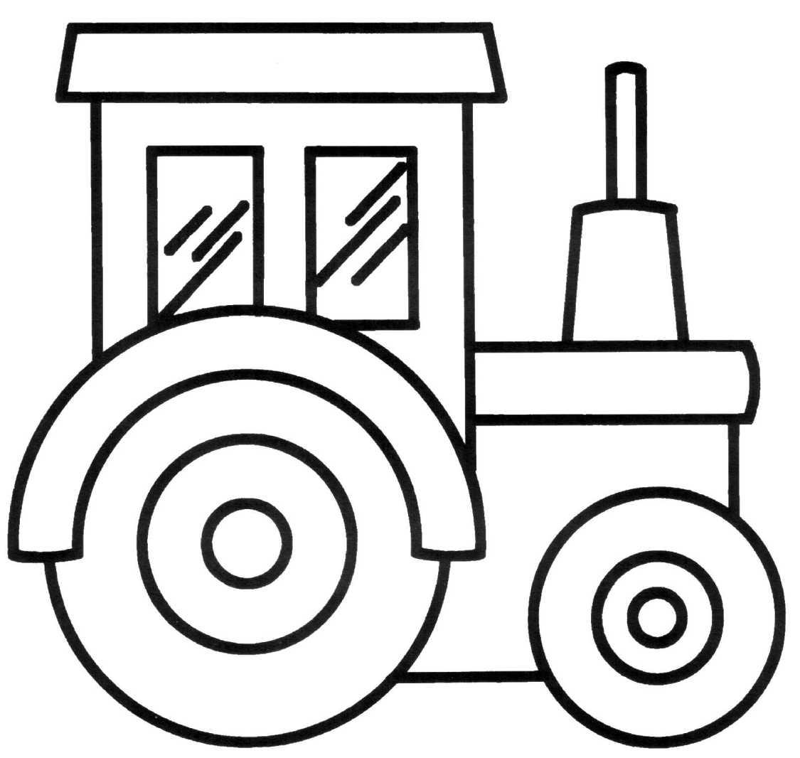Раскраска для мальчика 3 года машины онлайн
